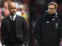 Guardiola y Klopp son dos técnicos muy cotizados.