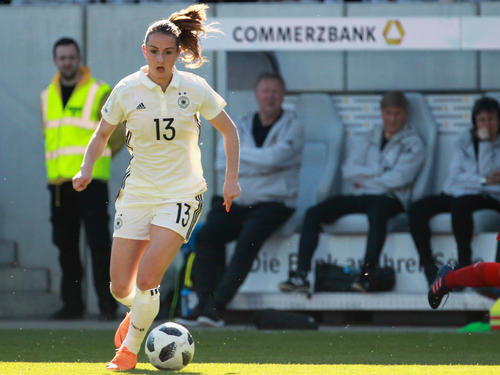 Sara Däbritz gelang der Treffer zum zwischenzeitlichen 2:2-Ausgleich