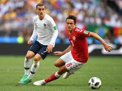 Kein Sieger zwischen Frankreich und Dänemark