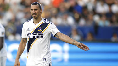 Superstar Zlatan Ibrahimovic spielt in der MLS bei Los Angeles Galaxy
