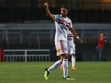 Santiago Tréllez celebra su tanto contra Vasco. (Foto: Imago)