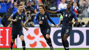 Griezmann lideró a 'Les Bleus' con un doblete. (Foto: Getty)