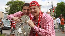 Wechselt Arjen Robben (r.) vom FC Bayern zur PSV Eindhoven?