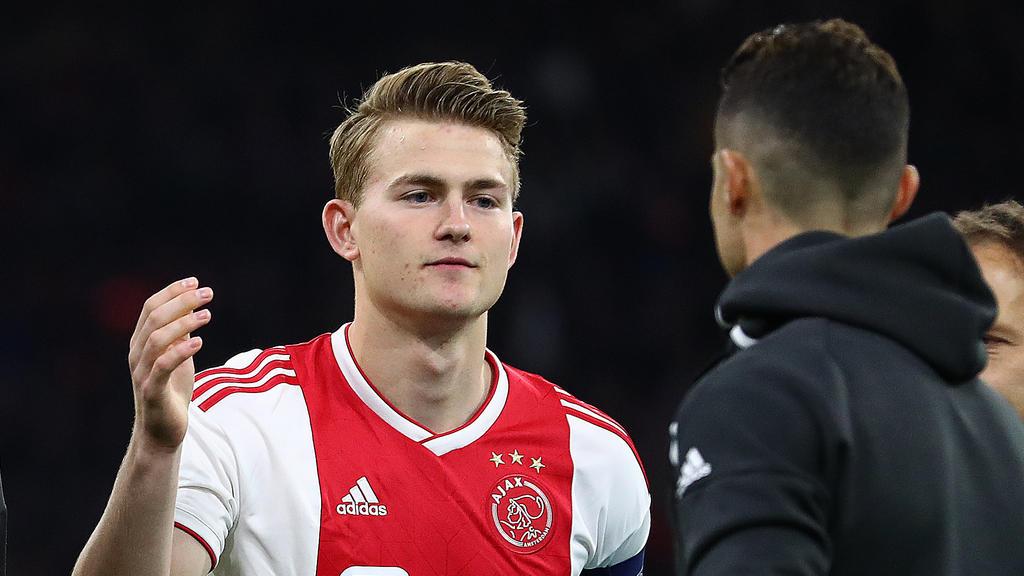 Ajax-Kapitän Matthijs de Ligt wird auch mit dem FC Bayern in Verbindung gebracht