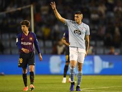 Maxi Gómez abrió el marcador en Balaídos. (Foto: Getty)