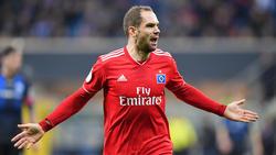 Pierre-Michel Lasogga wechselt vom HSV nach Katar - und nicht zum FC Schalke 04