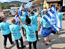 Großes Fanaufkommen in Hartberg