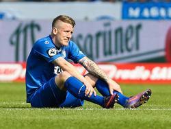 Richard Weil verletzte sich am Samstag gegen Rot-Weiß Erfurt