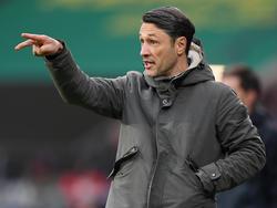 Niko Kovac trifft mit der Eintracht auf die Bayern