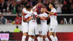 Der VfB Stuttgart hat den dritten Sieg im dritten Heimspiel gefeiert