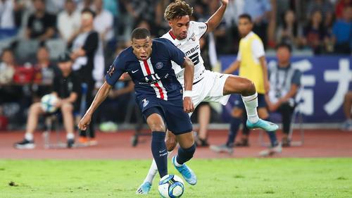 Kylian Mbappé und PSG stolperten in Rennes