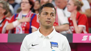 Ante Covic steht bei Hertha BSC bereits unter Druck