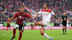 Dawid Kownacki (r.) wird Fortuna Düsseldorf fehlen