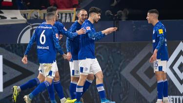 Der FC Schalke 04 empfängt Eintracht Frankfurt