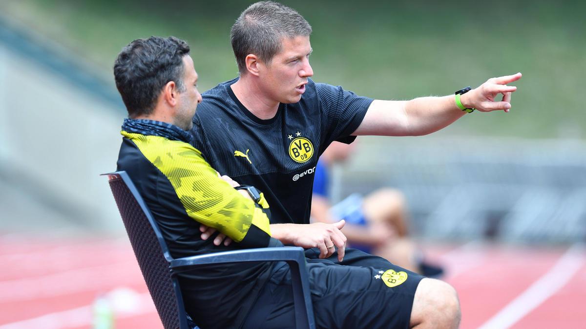 Mike Tullberg coacht die U19 des BVB