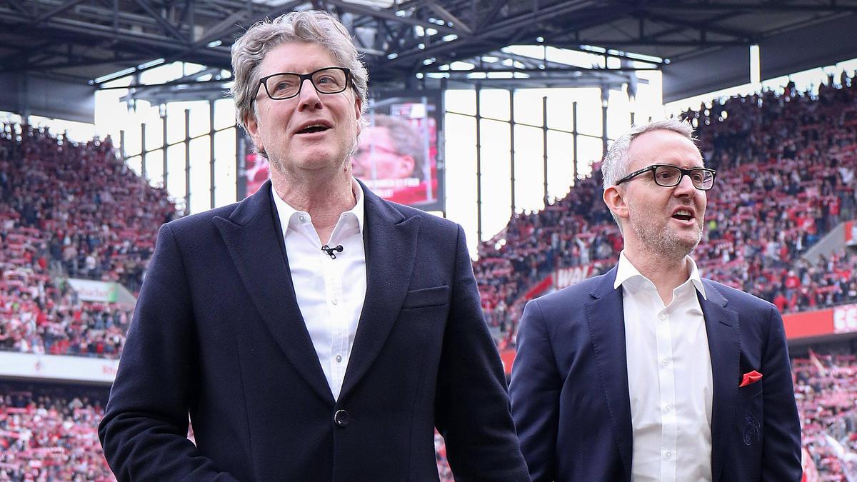 Alexander Wehrle (r.) ist derzeit Geschäftsführer beim 1. FC Köln