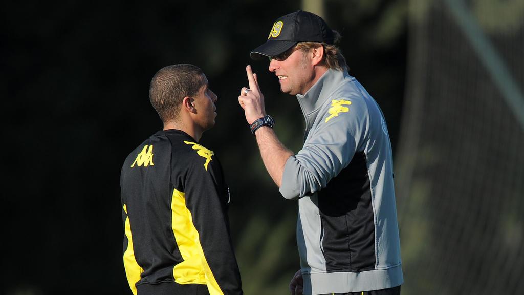 Mohamed Zidan und Jürgen Klopp arbeiteten einst beim BVB zusammen