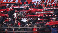 Das Halbfinal-Rückspiel zwischen Juventus Turin und ACMailand findet ohne Mailänder Fans statt
