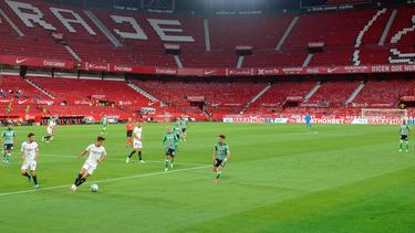 Der FC Sevilla schlägt Betis im Stadtderby