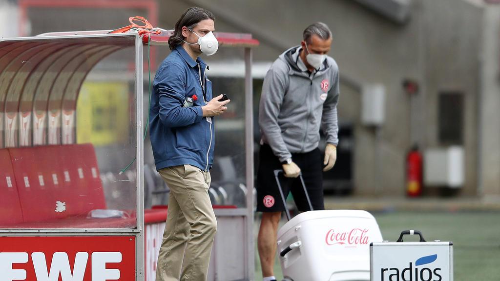 Will seine Zeit bei Fortuna Düsseldorf erst im Sommer bilanzieren: Lutz Pfannenstiel