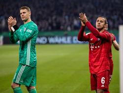Neuer quiere que Thiago siga siendo su compañero.