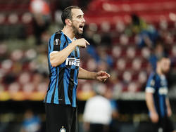 Godín se despide tras una temporada gris del Inter.