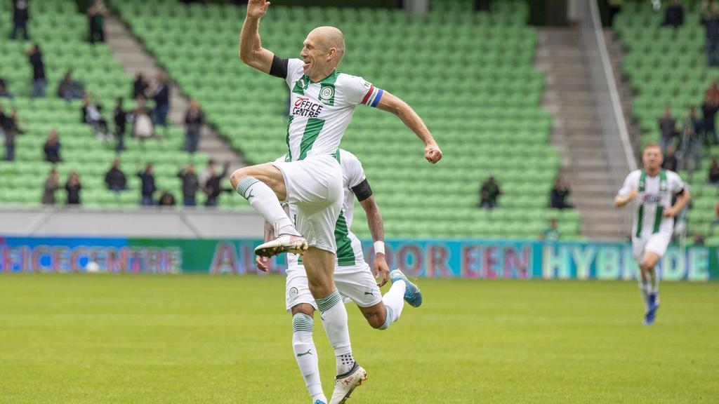 Robben trifft für Groningen