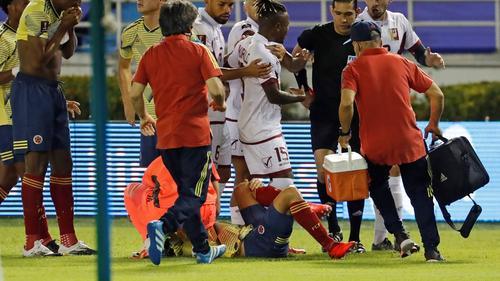 Horror-Verletzung bei Santiago Arias von Bayer Leverkusen