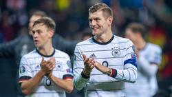 Kroos (r.) bestritt gegen die Schweiz sein 100. Länderspiel