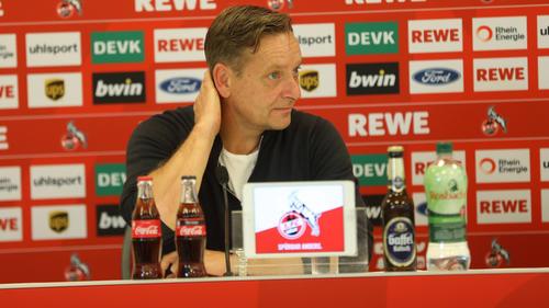 Horst Heldt will mit dem 1. FC Köln die Klasse halten