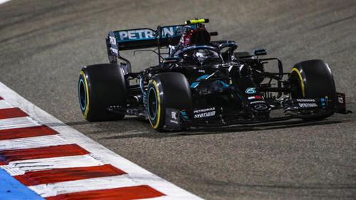 Valtteri Bottas kontne sich in Bahrain immerhin auf Rang zwei fahren