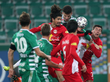 Bei Salzburg gegen Rapid geht's immer heiß zur Sache