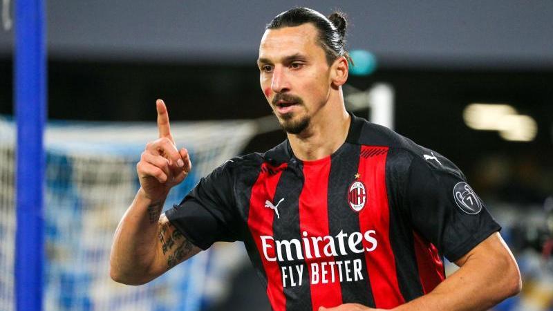 Zlatan Ibrahimovic denkt noch nicht ans Karriereende