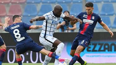 Romelu Lukaku und Inter Mailand stehen kurz vor dem Titelgewinn in der Serie A