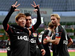 Die Leverkusener versöhnten nach der Pleite gegen ManUnited ihre Fans