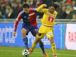 FC Basel gegen FC Luzern