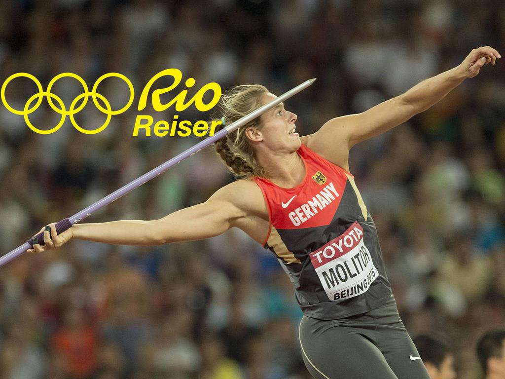 Den nächsten großen Wurf hat sich Katharina Molitor für Rio 2016 vorgenommen