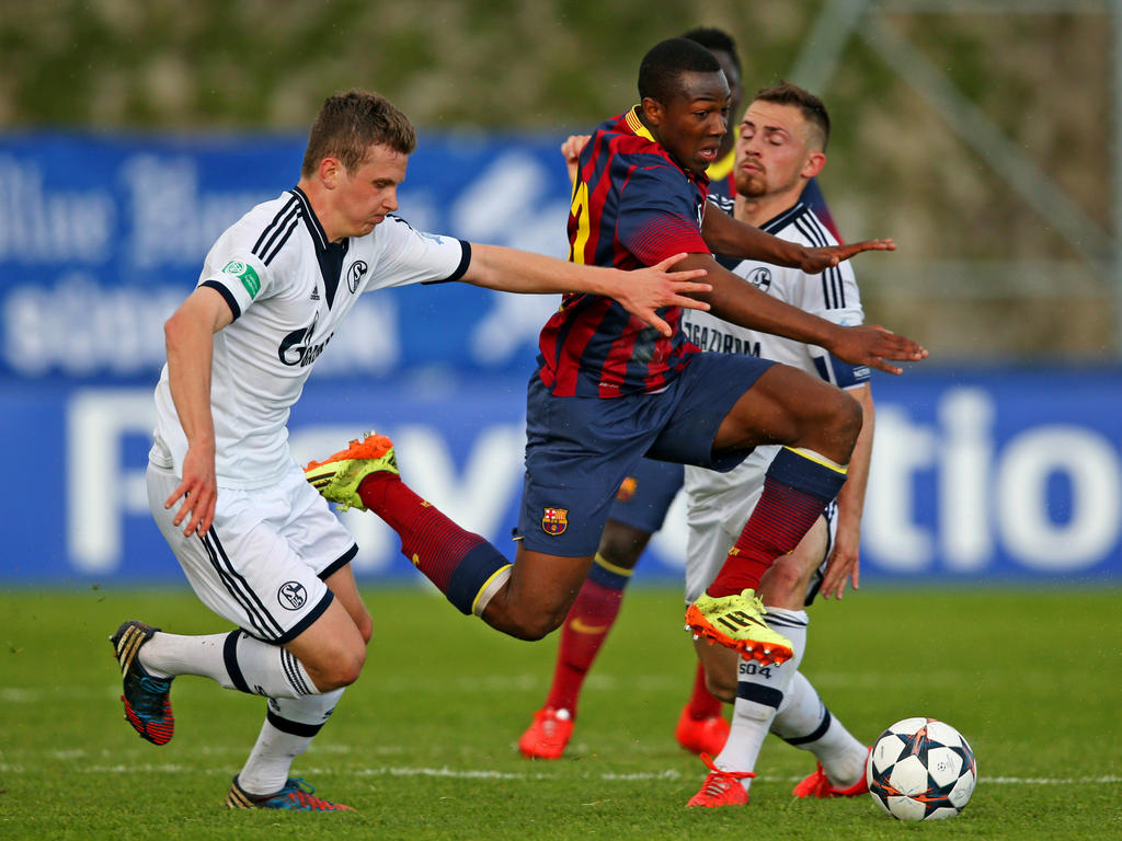 Adama Traoré wechselt aus Barcelona nach Birmingham