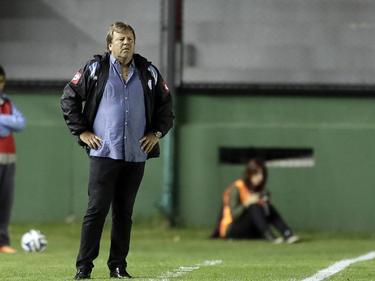 Ricardo Zielinski, entrenador de Belgrano, vivió con nervios el choque. (Foto: Imago)