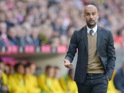 Pep Guardiola vio impotente la derrota de los suyos en su propia casa. (Foto: Getty)