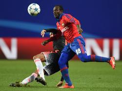 Ob Seydou Doumbia gegen den VfL Wolfsburg spielen kann, steht noch nicht fest
