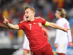 Gerard Deulofeu läuft gegen Georgien zu Hochform auf!