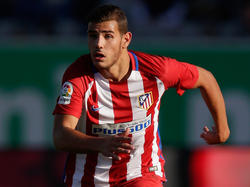 Theo Hernández con la camiseta del Atlético (Foto: Getty)