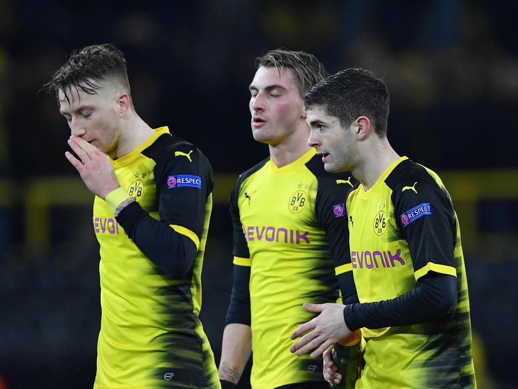 Der BVB verlor das Hinspiel im Achtelfinale der Europa League