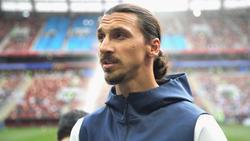 Zlatan Ibrahimovic hat eine schwere Zeit hinter sich