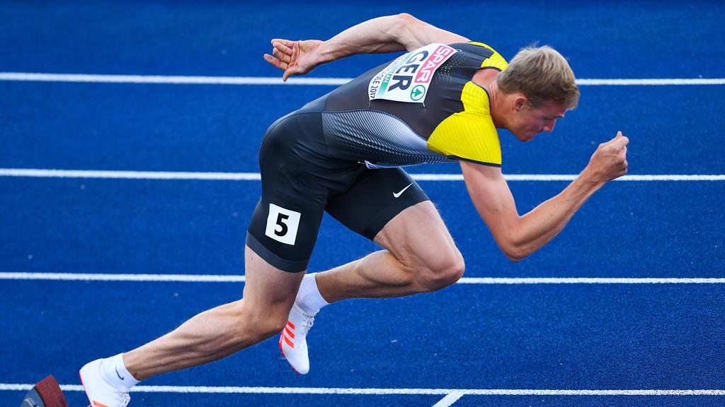 Johannes Trefz steht mit deutscher Staffel im Finale