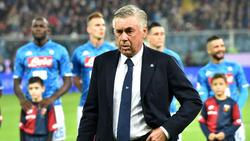 Carlo Ancelotti ist von den Fans in Italien wenig angetan