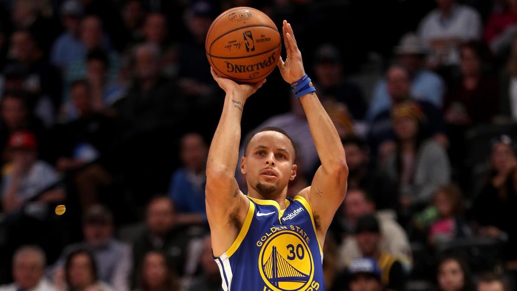 Stephen Curry und die Golden State Warriors sind in Topform