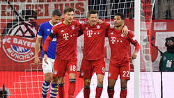 Der FC Bayern ließ Schalke 04 im Heimspiel keine Chance