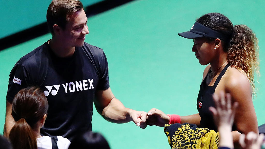 Naomi Osaka trennt sich von Sascha Bajin